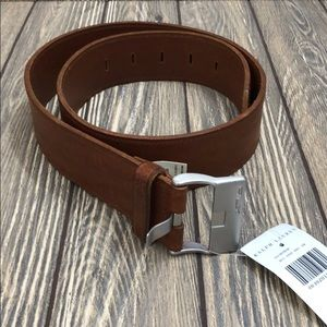 Ralph Lauren Brown Leather Belt NWT